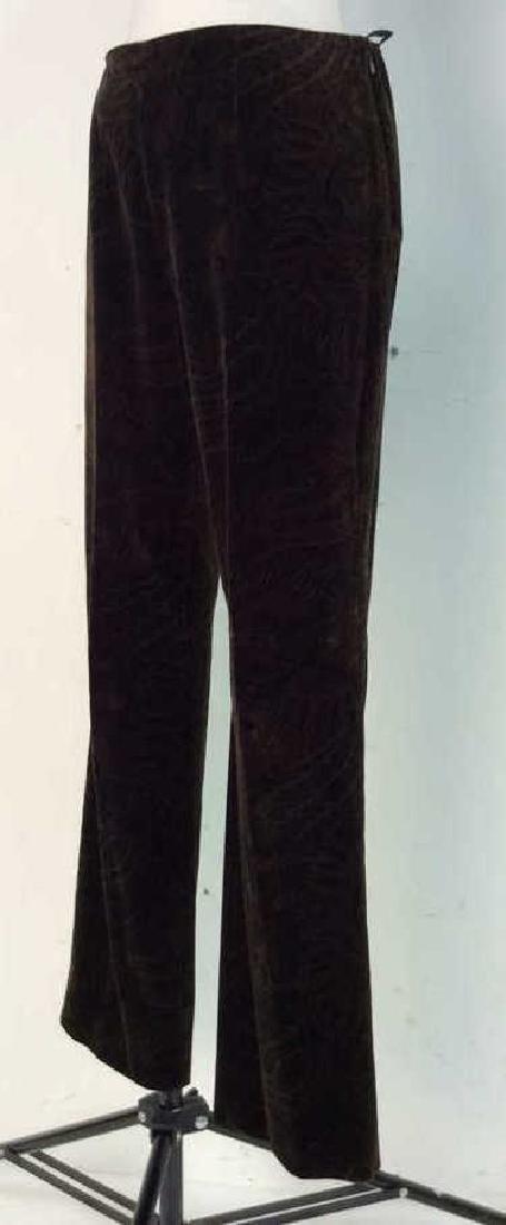 RALPH LAUREN Cotton Floral Filigree Pants