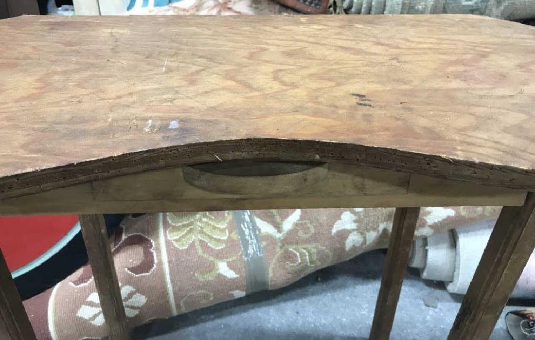 Vintage Wood Vanity Table - 3