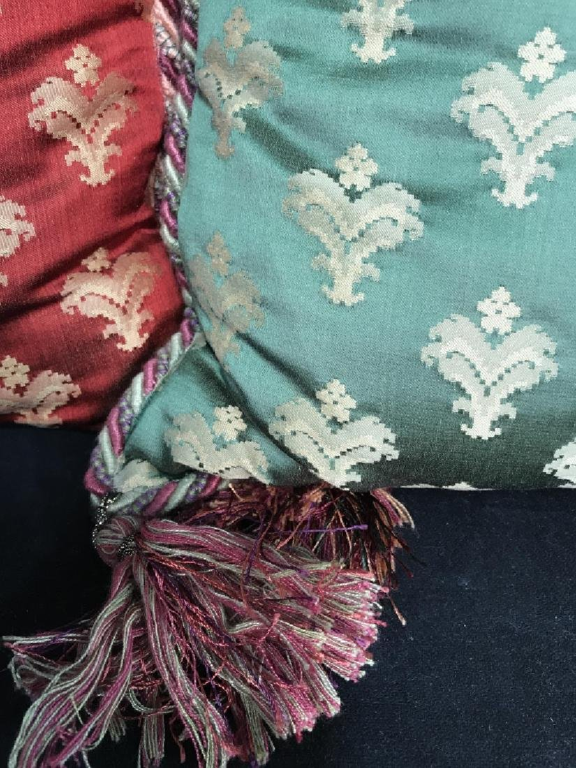Pair Decorator Silk Toss Pillows - 2