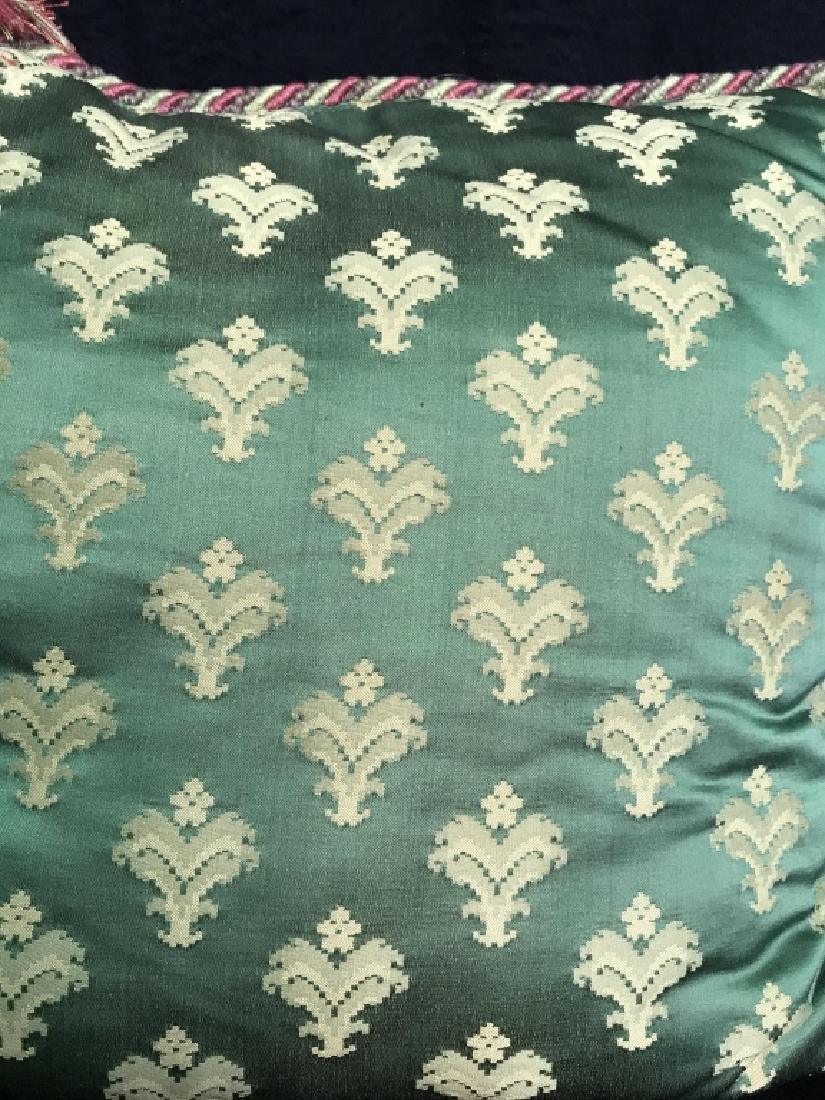 Pair Decorator Silk Toss Pillows - 5