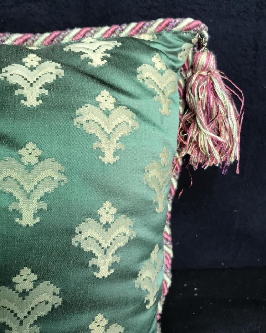 Pair Decorator Silk Toss Pillows - 6