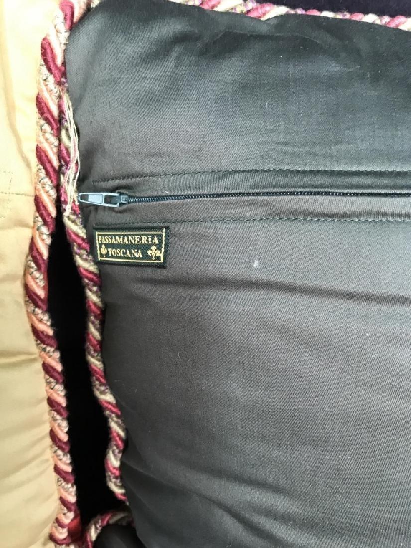 Pair Decorator Silk Toss Pillows - 8