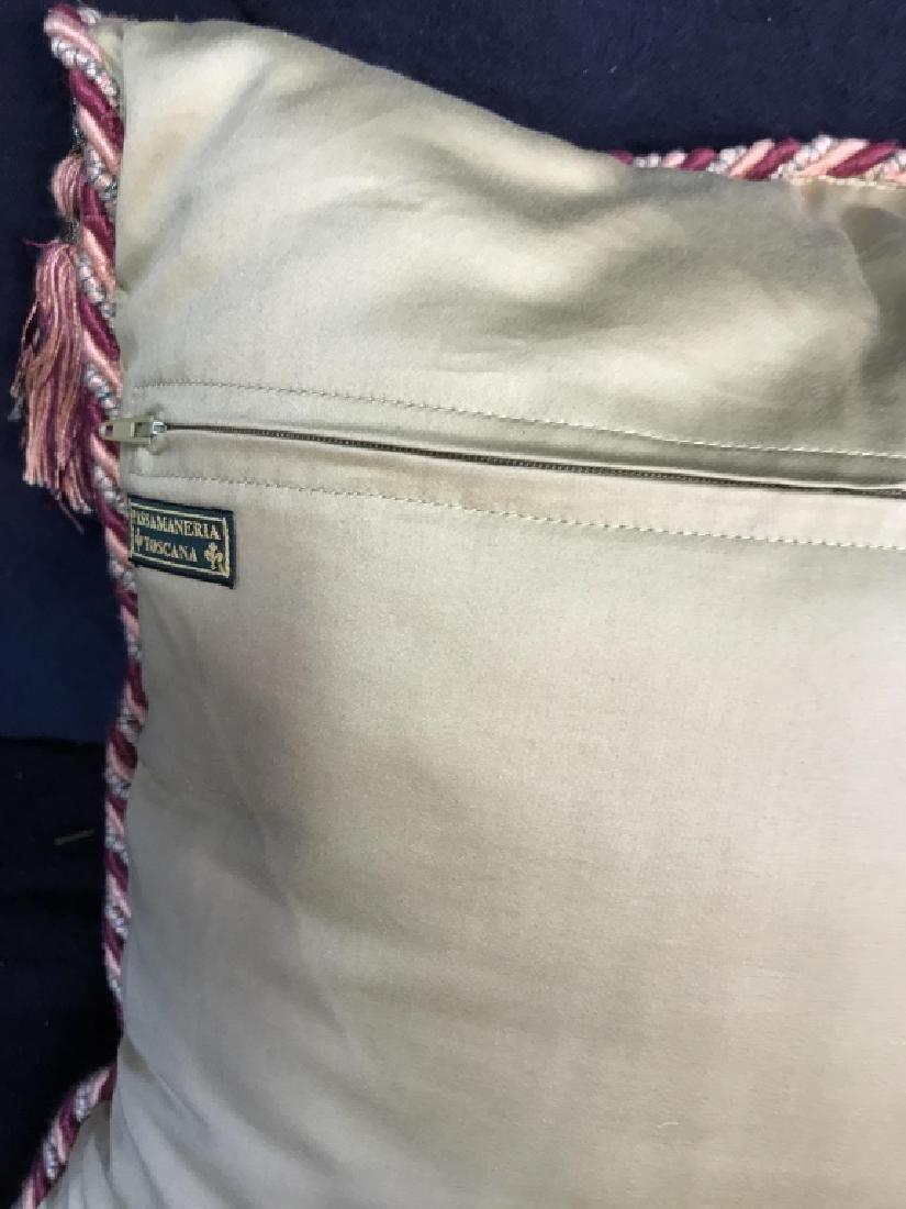 Pair Decorator Silk Toss Pillows - 9