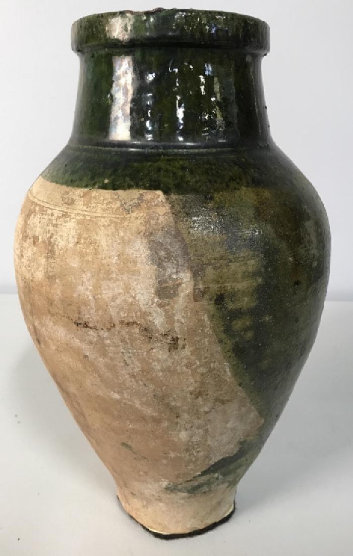 Vintage Glazed French Ceramic Jug - 5