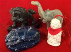 Lot 4 Assorted Decorative Tabletop Accessories