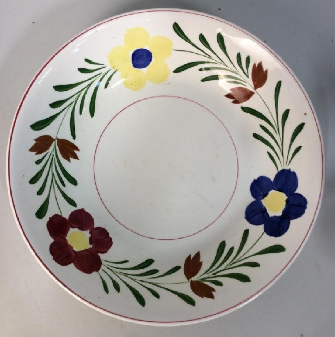 Ceramic Porcelain Hand Painted Serving Bowl