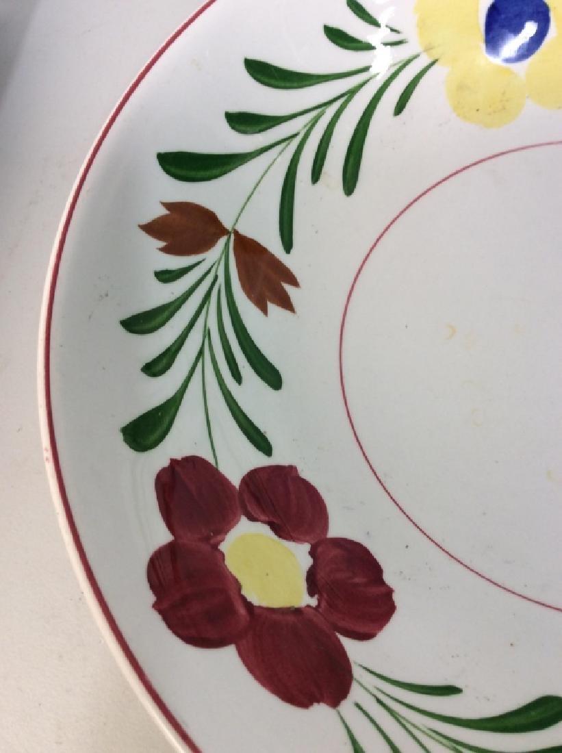 Ceramic Porcelain Hand Painted Serving Bowl - 3