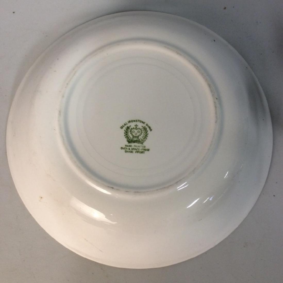 Ceramic Porcelain Hand Painted Serving Bowl - 4