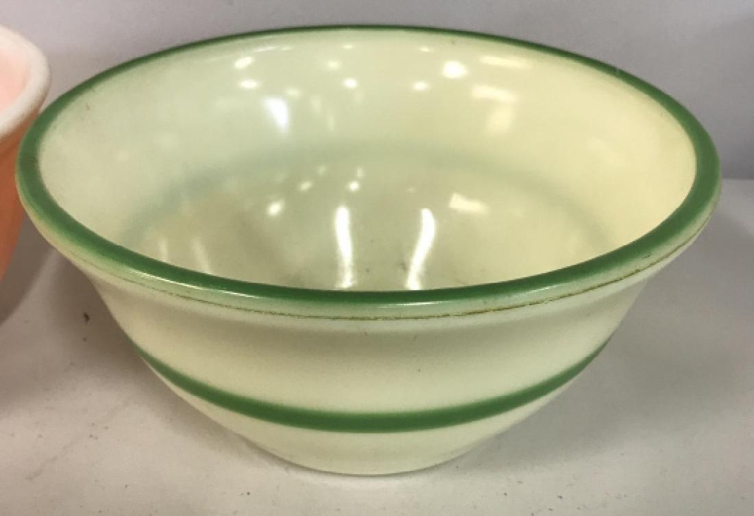 2 Vintage Fire King Bowls, Kitchen Ware - 5