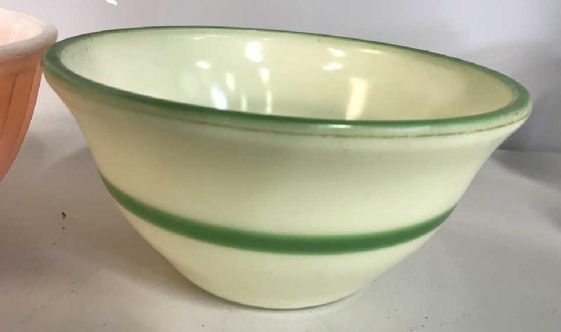 2 Vintage Fire King Bowls, Kitchen Ware - 6