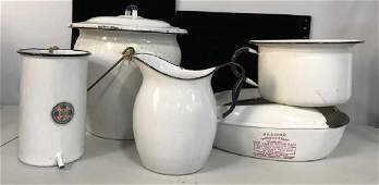 Vintage Collection Medical Kitchen Enamelware