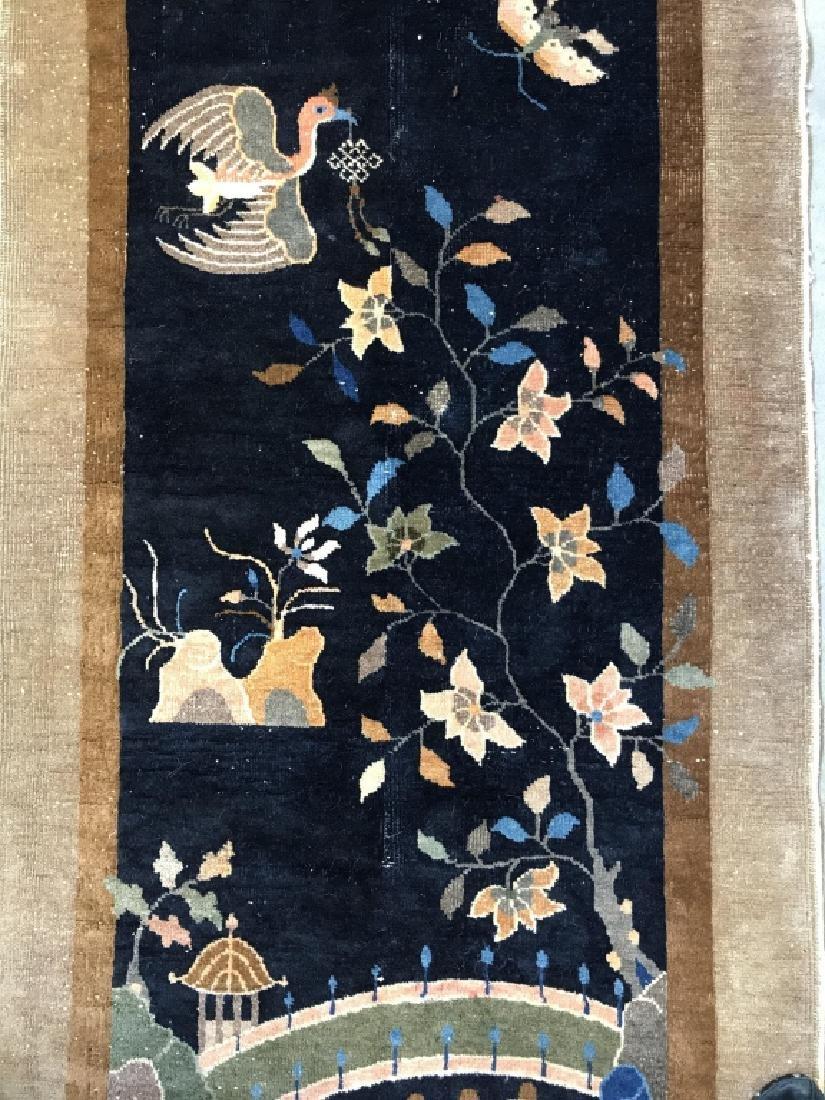 Chinese Art Deco Hand Made Wool Carpet