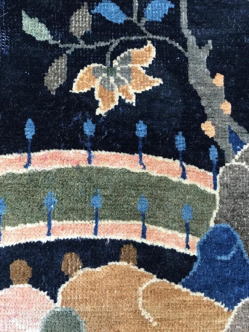 Chinese Art Deco Hand Made Wool Carpet - 6