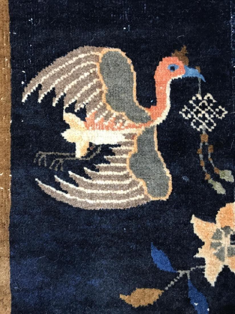 Chinese Art Deco Hand Made Wool Carpet - 9