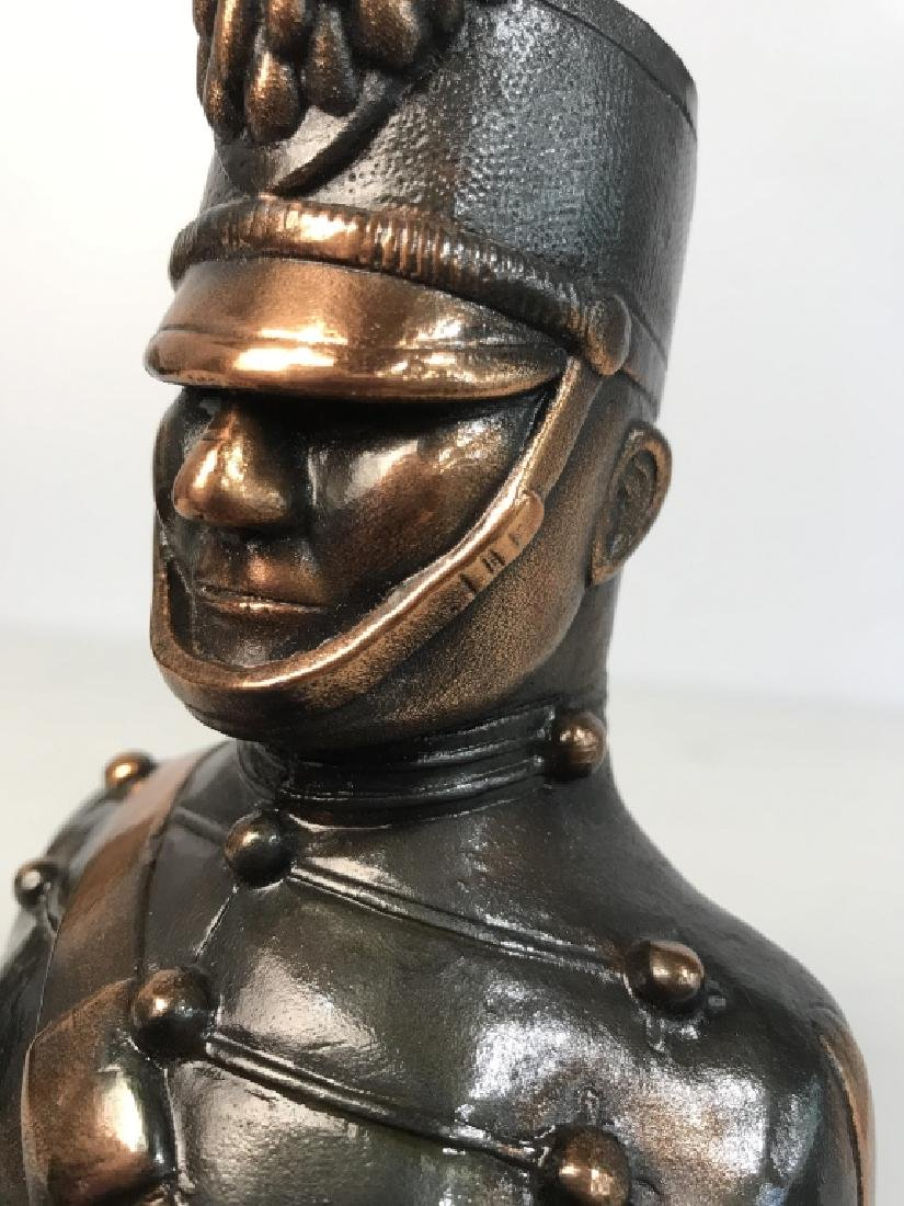 JOANSKI Signed Ceramic Soldier Figural