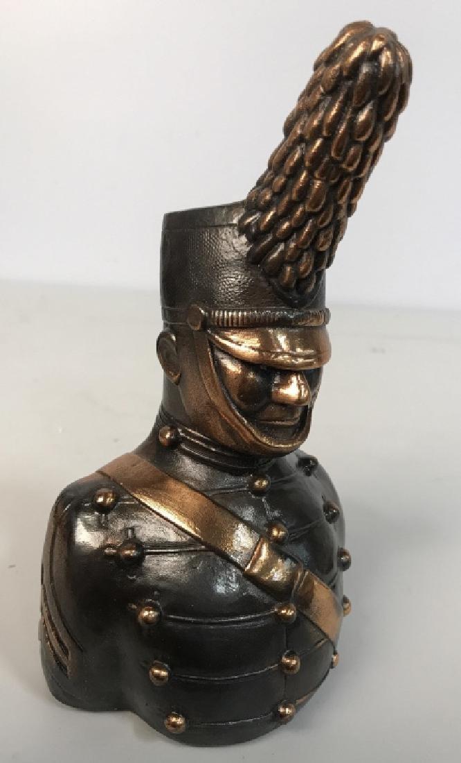 JOANSKI Signed Ceramic Soldier Figural - 3