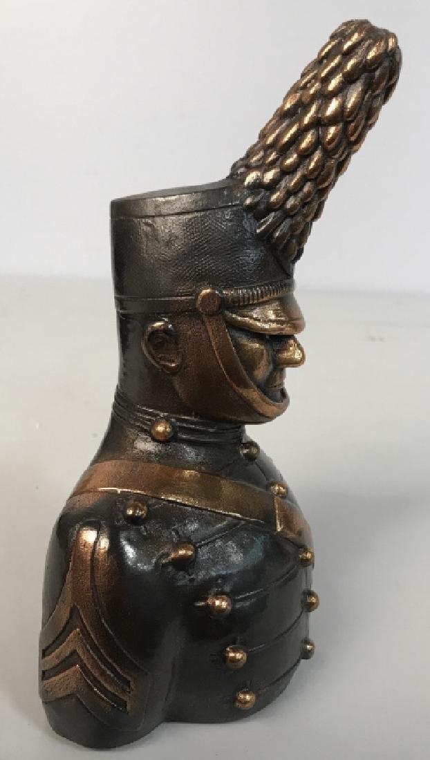 JOANSKI Signed Ceramic Soldier Figural - 4