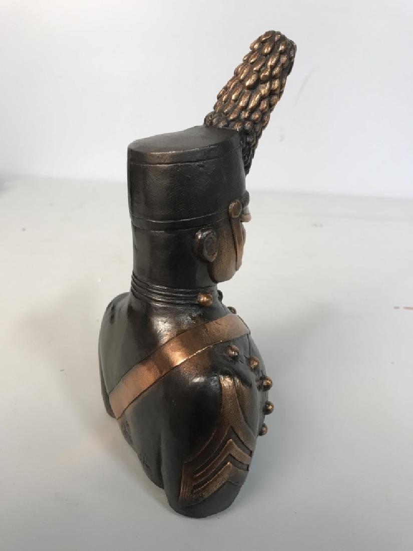 JOANSKI Signed Ceramic Soldier Figural - 5