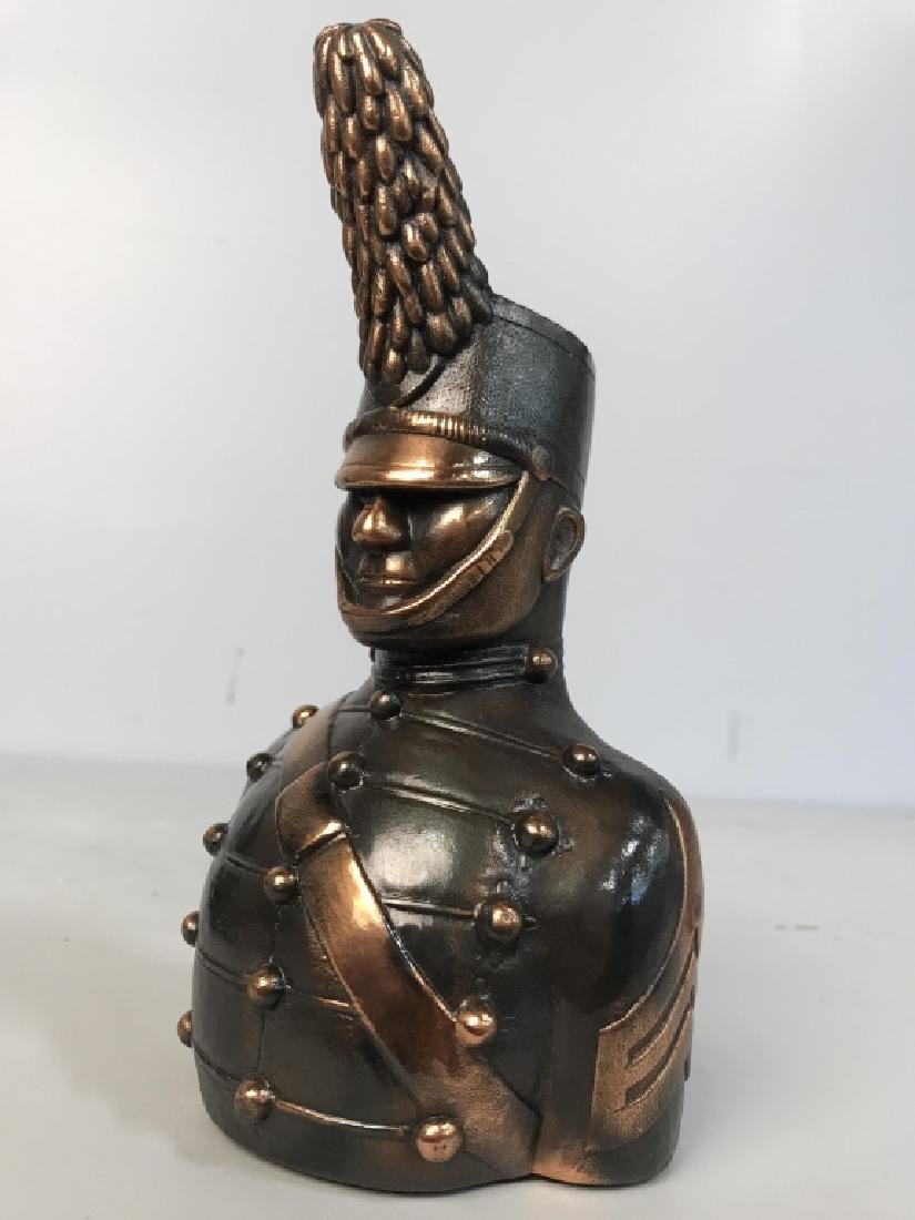 JOANSKI Signed Ceramic Soldier Figural - 8