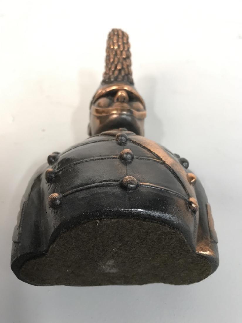 JOANSKI Signed Ceramic Soldier Figural - 9