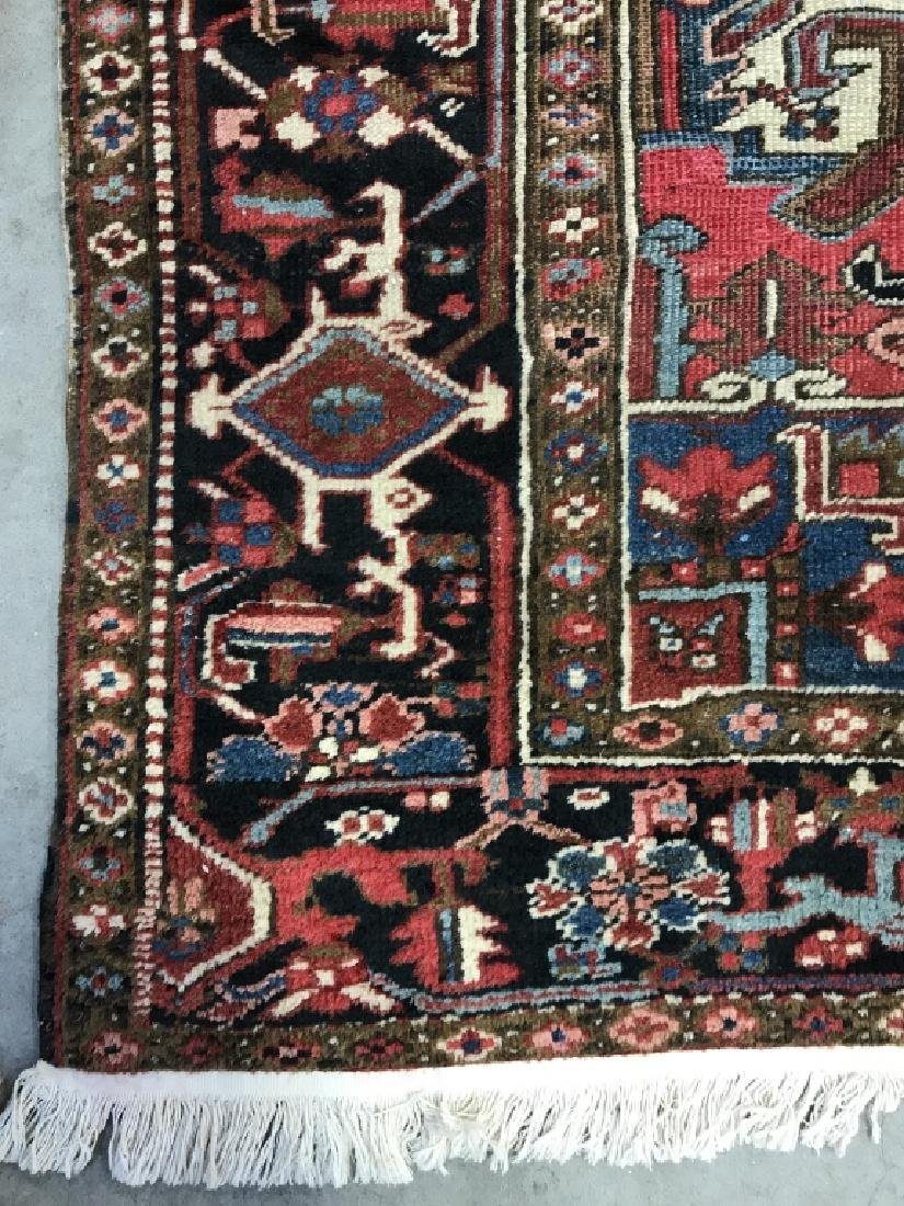 Vintage Handmade Intricately Detailed Persian Rug - 5