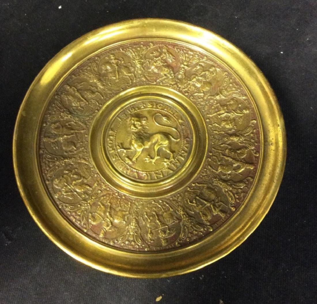 Brass Toned Table Top Accessory - 2