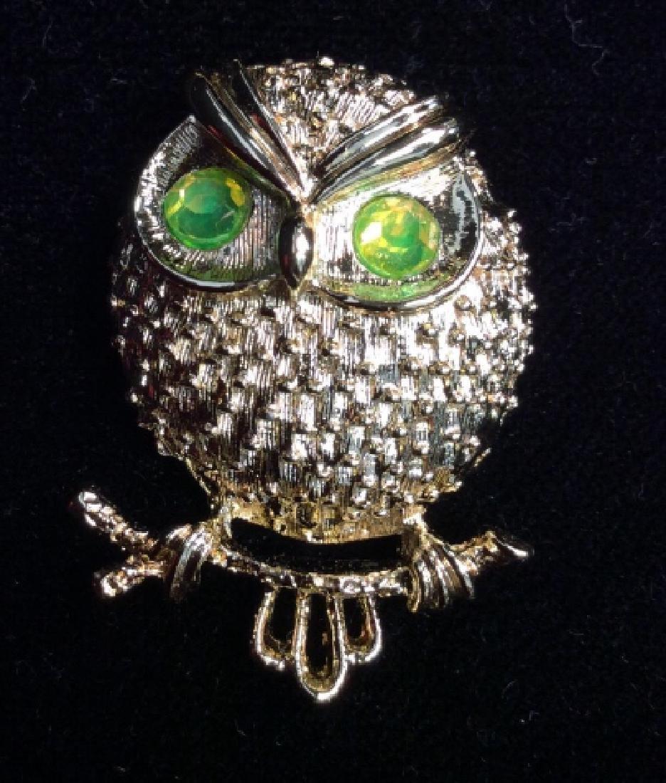 Lot 6 Women's Vintage Costume Animal Jewelry - 6