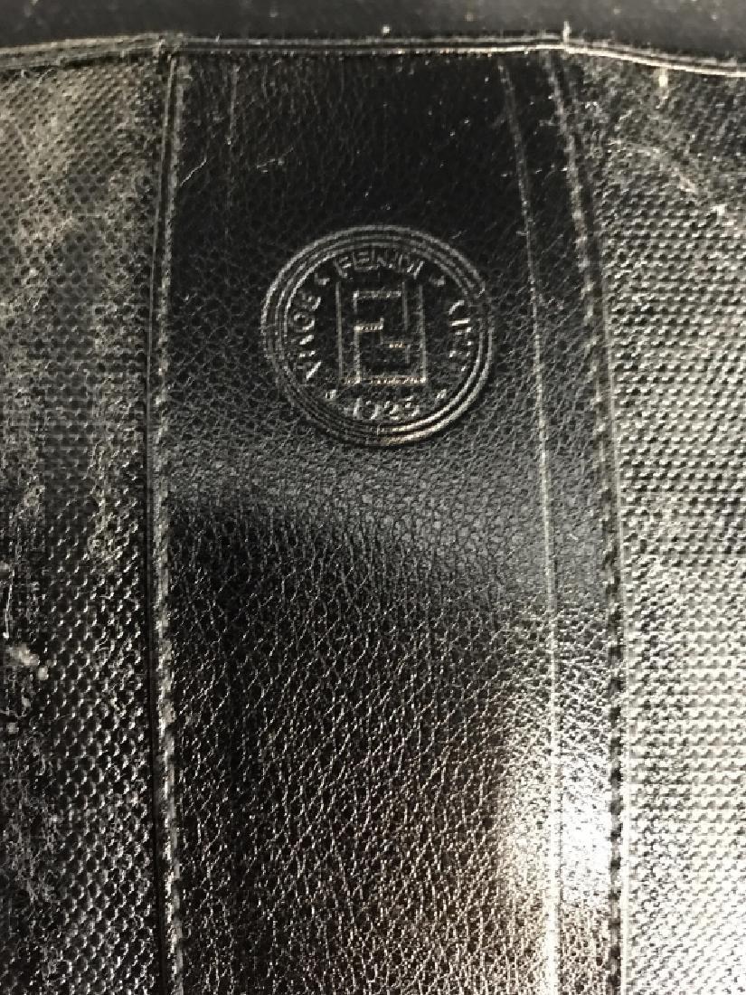 Faux Fendi Nylon and Leather Purse - 2