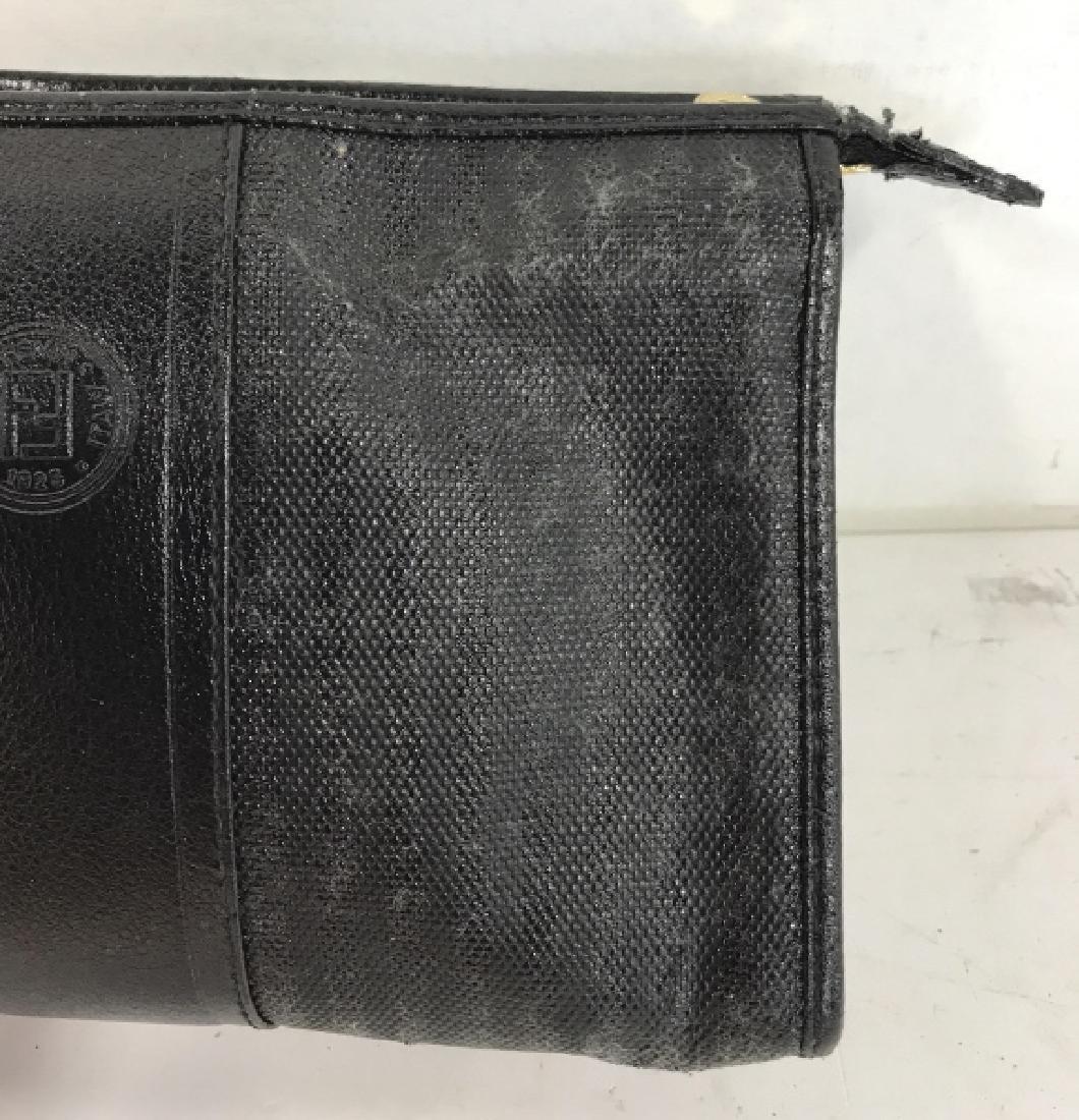 Faux Fendi Nylon and Leather Purse - 4