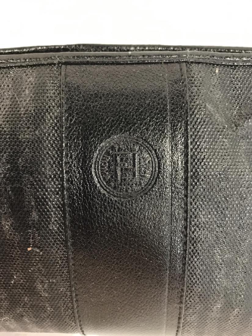 Faux Fendi Nylon and Leather Purse - 5