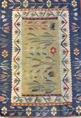 Hand Woven Flat Weave Carpet