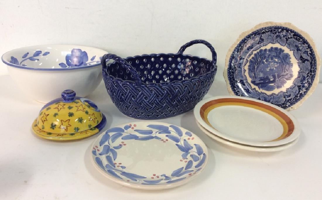 Lot 6 Assorted Porcelain Tableware