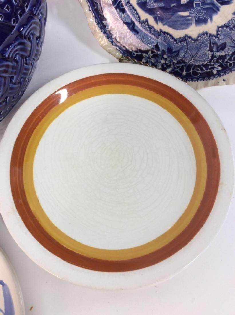 Lot 6 Assorted Porcelain Tableware - 4