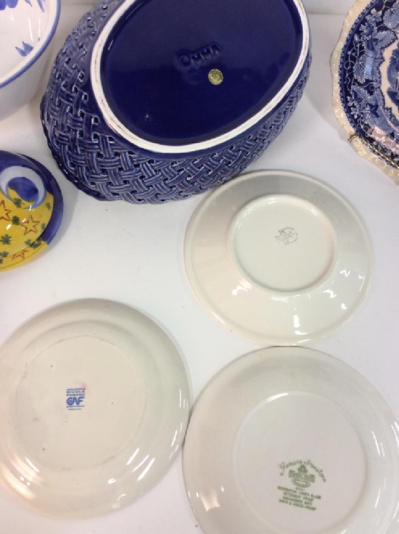Lot 6 Assorted Porcelain Tableware - 7
