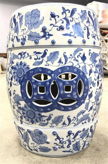 Cool Porcelain Chinoiserie Garden Stool Creativecarmelina Interior Chair Design Creativecarmelinacom