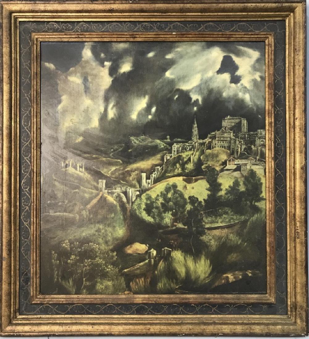 Framed Print Of Castle