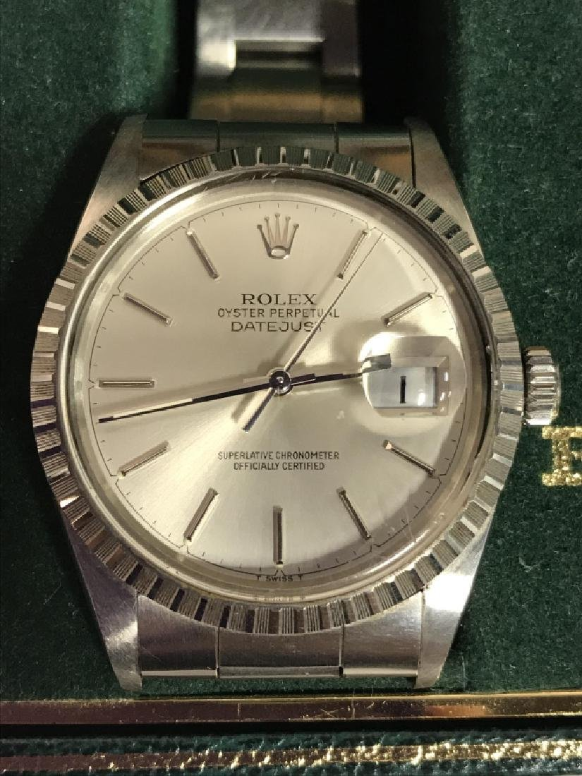 Rolex Oyster Perpetual Datejust Watch