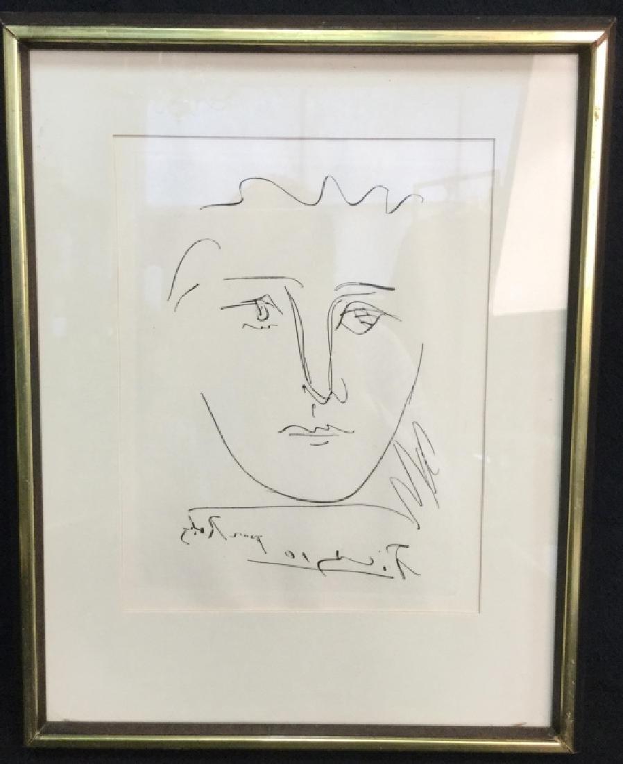 Framed Original Authenticate Pablo Picasso Etching