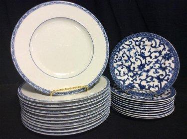 Ralph Lauren China Mandarin Blue Dinnerware