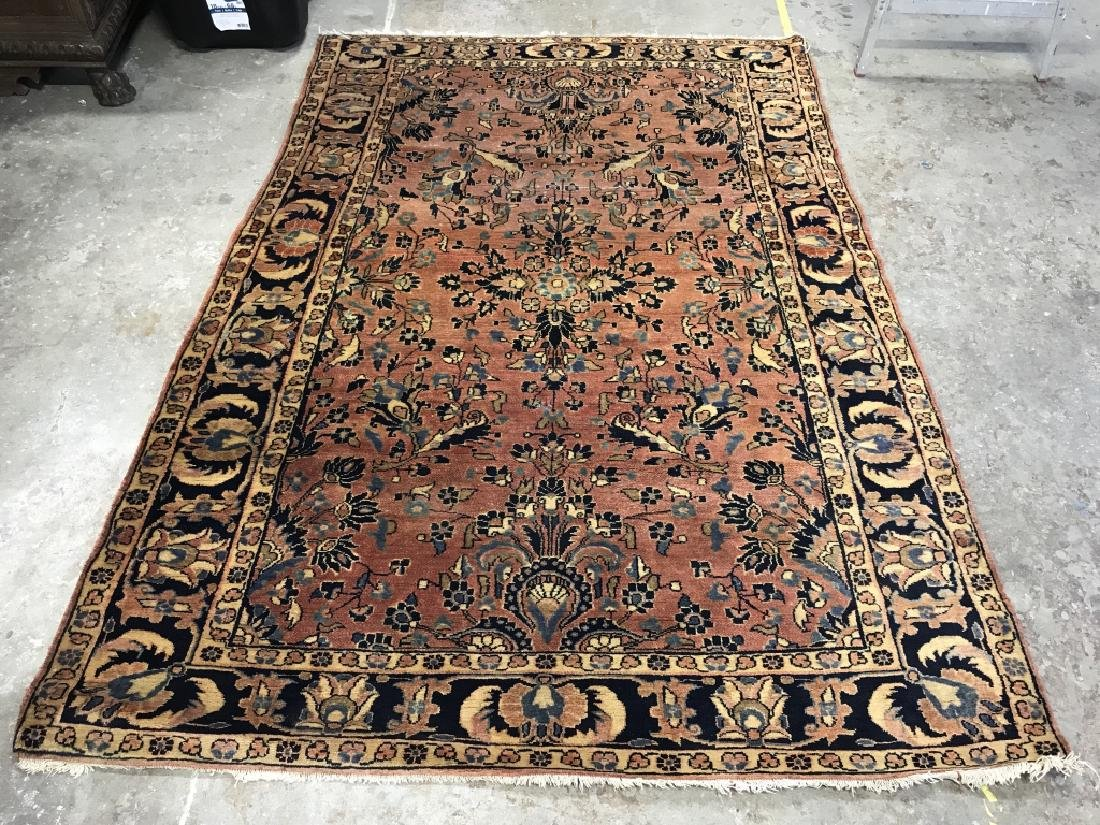 Handmade Antique Persian Wool Rug