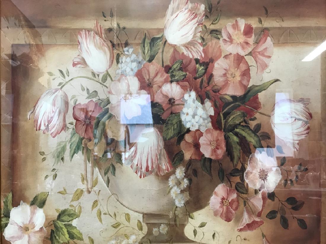 Framed Floral Print - 2