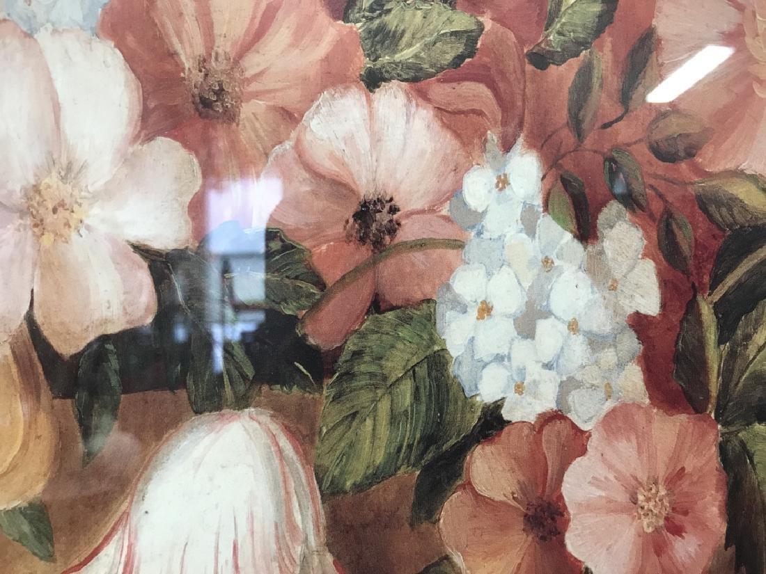 Framed Floral Print - 4