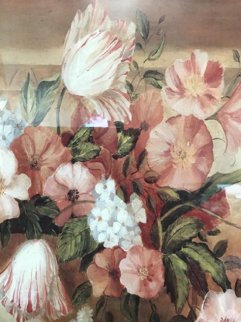 Framed Floral Print - 5