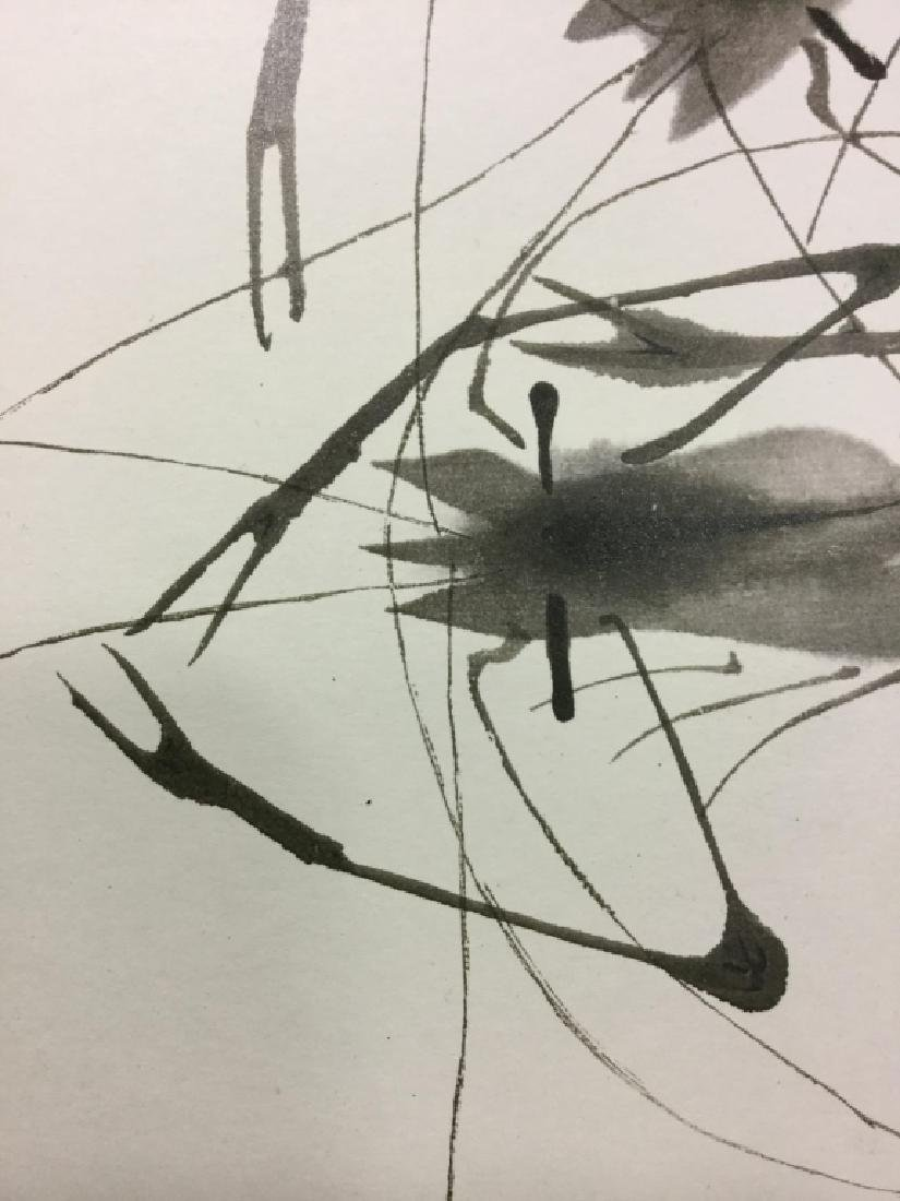 Oriental Style Crawfish Print - 3
