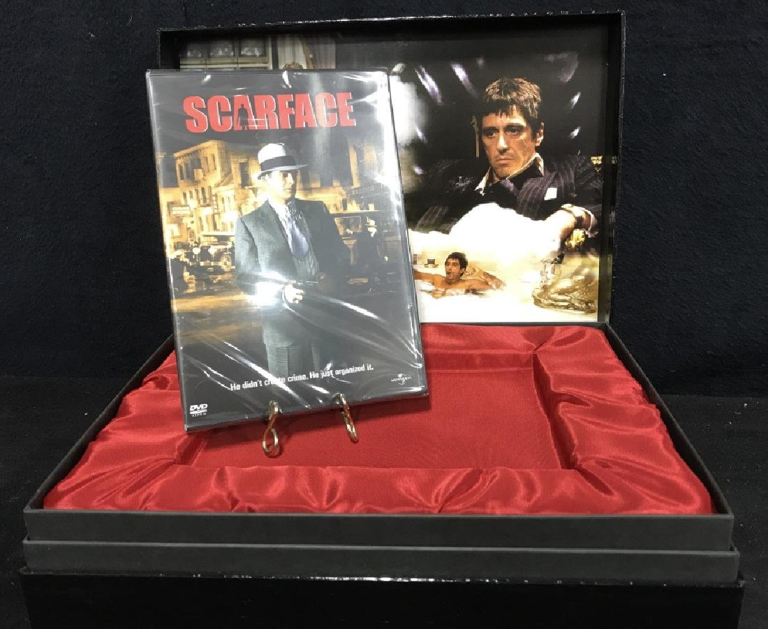 Boxed edition Scarface the movie Dvd