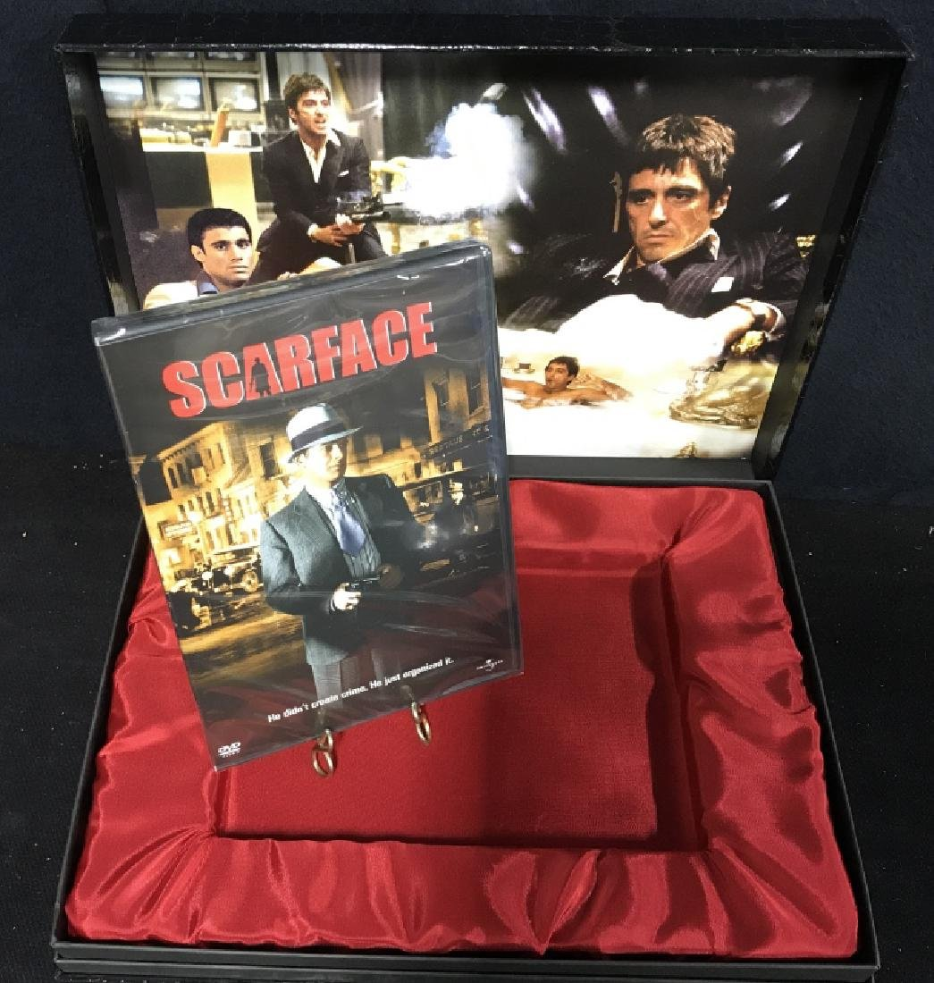 Boxed edition Scarface the movie Dvd - 2