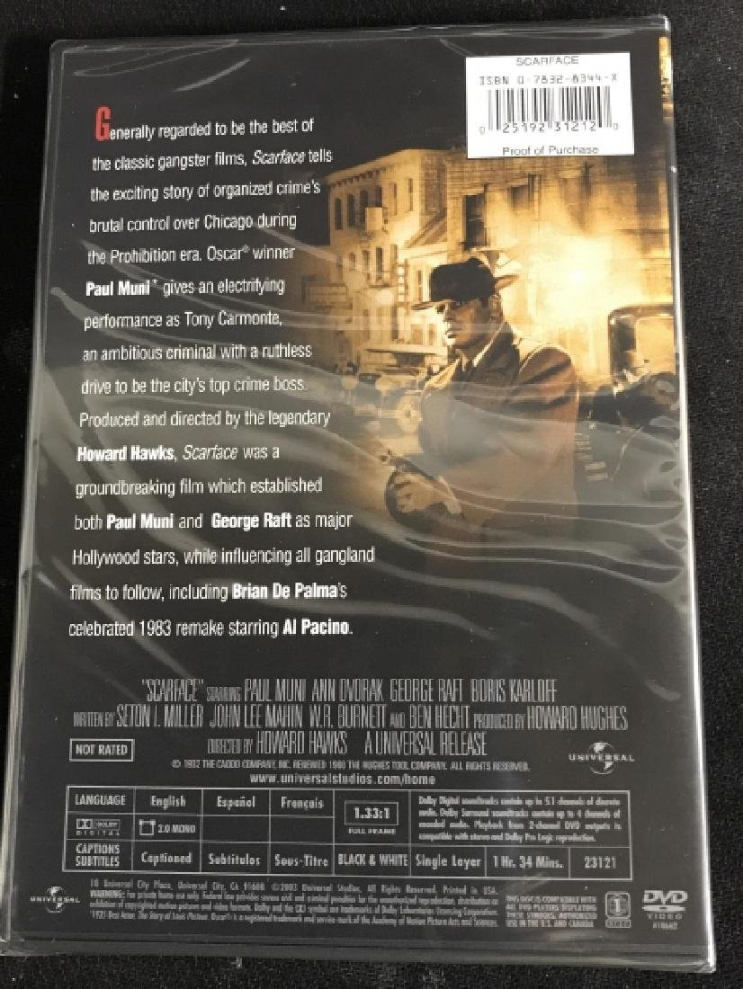 Boxed edition Scarface the movie Dvd - 5