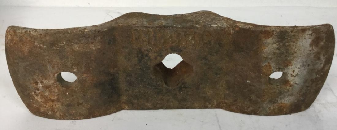 Antique Cast Iron Cobblers Tool - 8