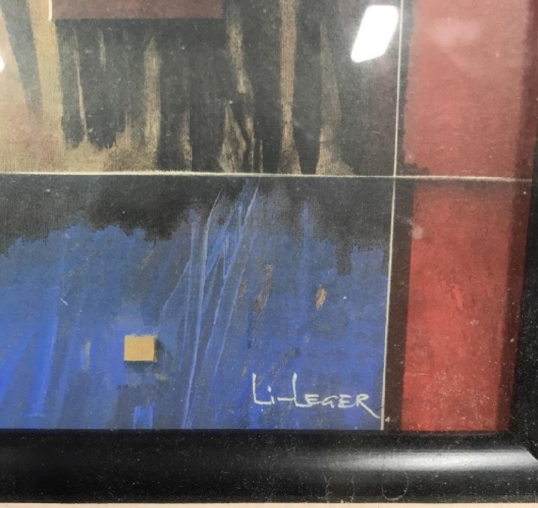 LI LEGER Framed Art Print - 6
