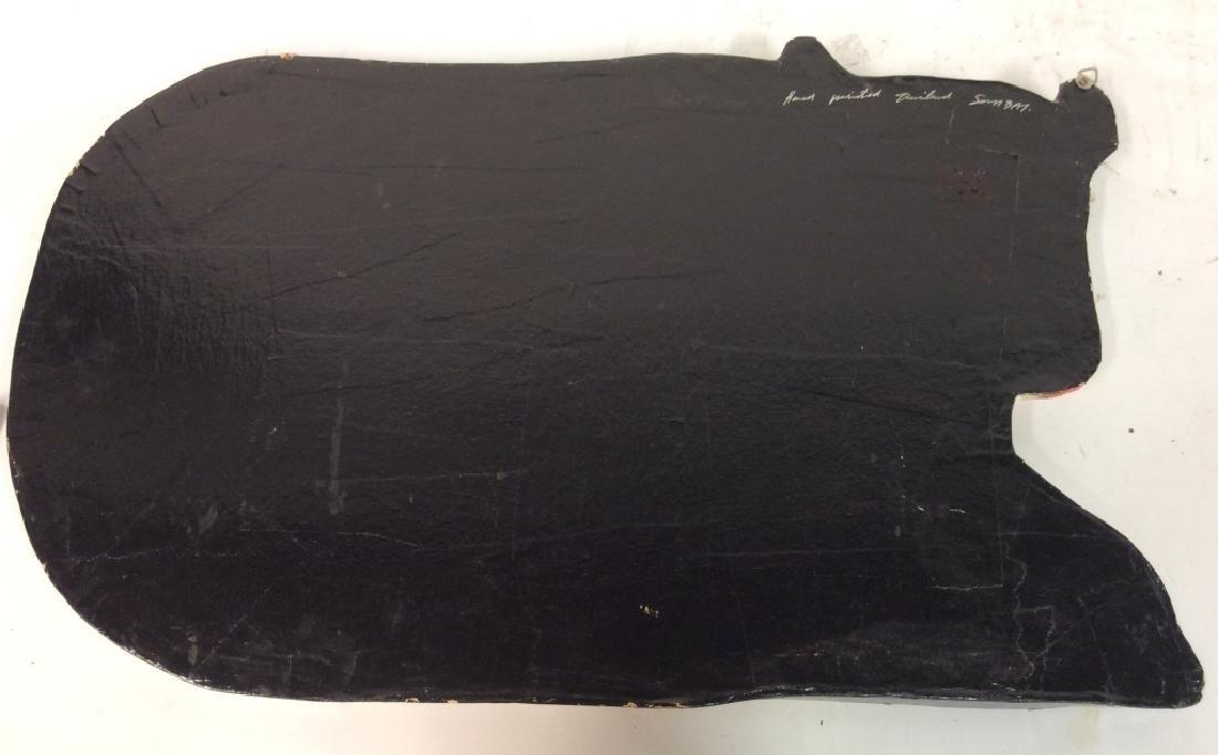 Faux Paper Mache Cow Tray - 9